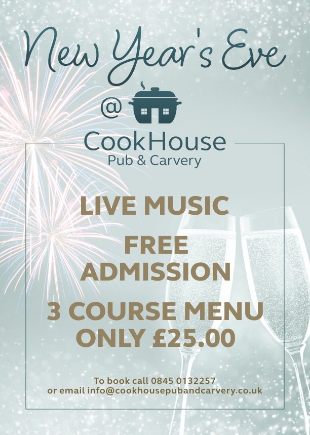 New Years Eve | Cookhouse Liverpool